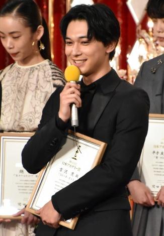 『第42回日本アカデミー賞』で新人俳優賞を受賞した吉沢亮 (C)ORICON NewS inc.