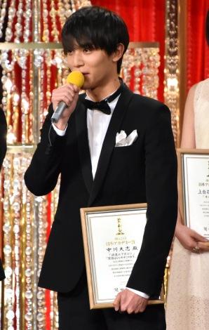 『第42回日本アカデミー賞』で新人俳優賞を受賞した中川大志 (C)ORICON NewS inc.
