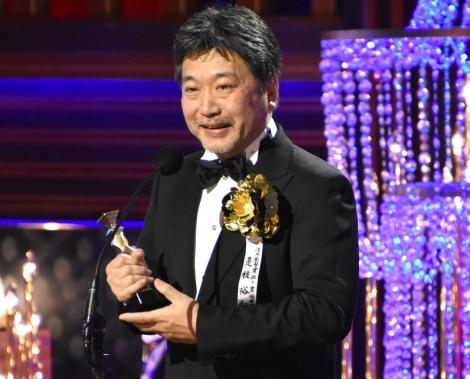 『第41回日本アカデミー賞』で最優秀脚本賞を2年連続で受賞した是枝裕和監督 (C)ORICON NewS inc.