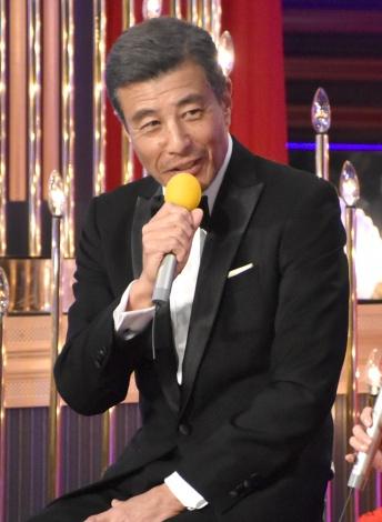 『第42回日本アカデミー賞』で主演男優賞を受賞した舘ひろし (C)ORICON NewS inc.
