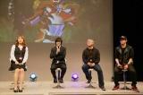 出演者も登壇(左から)内山命(SKE48)、本田剛文(BOYS AND MEN)、岡元次郎、森博嗣(C)NHK