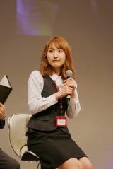 内山命(SKE48)=「トクサツガガガ緊急ファンミーティング」の模様(C)NHK