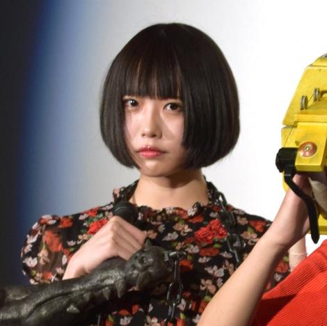 あの=映画「血まみれスケバンチェーンソー RED」ヒット御礼舞台あいさつ (C)ORICON NewS inc.