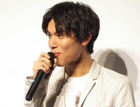 『賭ケグルイseason2』完成披露イベントに登壇した中川大志 (C)ORICON NewS inc.