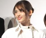 『賭ケグルイseason2』完成披露イベントに登壇した松村沙友理 (C)ORICON NewS inc.