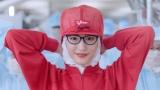 江崎グリコの新CM「スキパニスマイル」篇で美人先生役を演じる綾瀬はるか