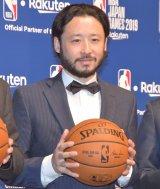 公式戦『NBA Japan Games 2019』開催発表会見に出席した田臥勇太選手 (C)ORICON NewS inc.