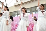 パフォーマンスするCollege Cosmos (C)ORICON NewS inc.
