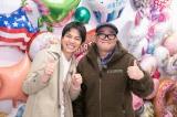 9日、16日放送『モモコのOH! ソレ! み〜よ! 』でぶらりロケする重岡大毅と兵動大樹(C)カンテレ