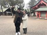 9日、16日放送『モモコのOH! ソレ! み〜よ! 』でぶらりロケする兵動大樹と西川ヘレン (C)カンテレ