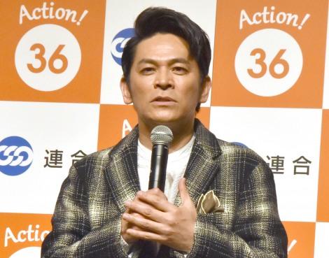 『36(サブロク)の日』制定記念発表会に出席したますだおかだ・岡田圭右 (C)ORICON NewS inc.