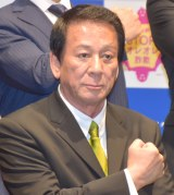 『SOS47動画発表会〜家族の絆でSTOP!オレオレ詐欺〜』の会見に参加した杉良太郎 (C)ORICON NewS inc.