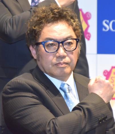 『SOS47動画発表会〜家族の絆でSTOP!オレオレ詐欺〜』の会見に参加したコロッケ (C)ORICON NewS inc.