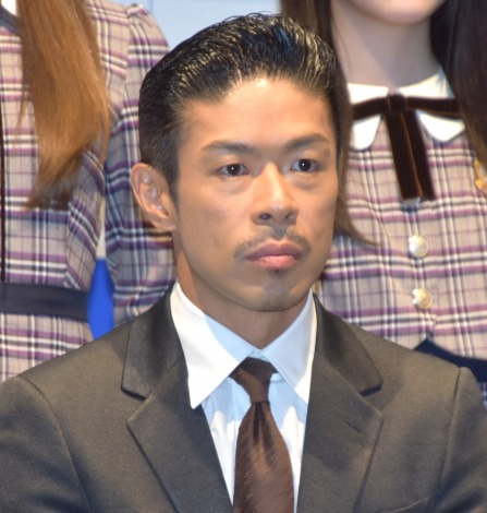 『SOS47動画発表会〜家族の絆でSTOP!オレオレ詐欺〜』の会見に参加した松本利夫 (C)ORICON NewS inc.
