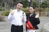 山崎が岡田に直談判したことから実現したゲスト出演(C)テレビ朝日