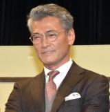 舞台『こと〜築地寿司物語〜』の公開ゲネプロに参加した渡辺裕之 (C)ORICON NewS inc.