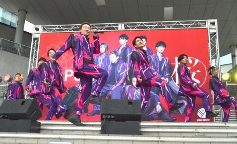 新曲「桜」リリース記念イベントを開催したDA PUMP (C)ORICON NewS inc.