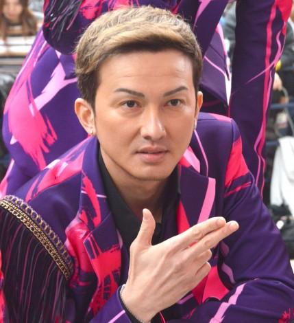 新曲「桜」リリース記念イベントを開催したDA PUMP・ISSA (C)ORICON NewS inc.
