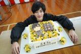 3月5日の24歳の誕生日を迎えた志尊淳(C)テレビ朝日