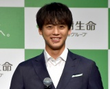 『大樹生命 新CM発表会』に出席した竹内涼真 (C)ORICON NewS inc.