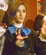 ミュージカル『HARUTO』ゲネプロ後囲み取材に出席したSixTONES・京本大我 (C)ORICON NewS inc.