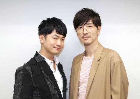 映画『コードギアス 復活のルルーシュ』に出演している(左から)福山潤、櫻井孝宏 (C)ORICON NewS inc.