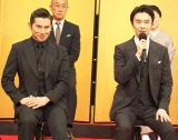NHK大河ドラマ『麒麟がくる』に出演する(左から)本木雅弘、長谷川博己 (C)ORICON NewS inc.