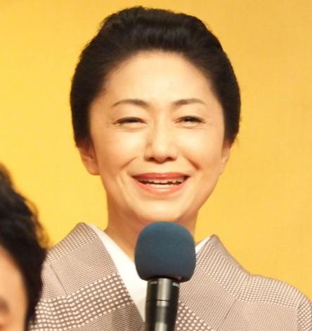 NHK大河ドラマ『麒麟がくる』に出演が決まった石川さゆり (C)ORICON NewS inc.