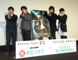 (左から)塩谷直義監督、関智一、中村悠一、梶裕貴 (C)ORICON NewS inc.