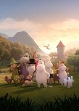 新作『ムーミン谷のなかまたち』NHK・BS4Kで4月4日より放送開始(C)Moomin Characters TM(C) Gutsy Animations 2019