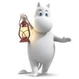 ムーミン(CV:寺島惇太)=新作『ムーミン谷のなかまたち』NHK・BS4Kで4月4日より放送開始(C)Moomin Characters TM(C) Gutsy Animations 2019