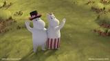 NHK・BS4Kで4月4日より放送開始、『ムーミン谷のなかまたち』第1話「リトルミイがやってきた」(C)Moomin Characters TM(C) Gutsy Animations 2019