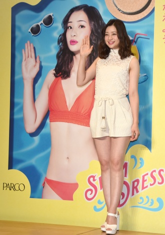 652b3b73bba 『PARCO SWIM DRESS 2019』のキャンペーンガールに起用された足立梨花(