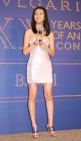 ブルガリのジュエリー「ビー・ゼロワン」コレクション誕生20周年アニバーサリーイベントに出席したKoki, (C)ORICON NewS inc.
