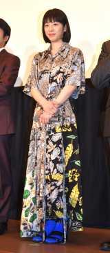 映画『きばいやんせ!私』の公開初日舞台あいさつに登壇した夏帆 (C)ORICON NewS inc.