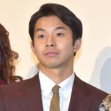 映画『きばいやんせ!私』の公開初日舞台あいさつに登壇した太賀 (C)ORICON NewS inc.