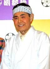 明治座3月『水森かおり特別公演』に出演する加藤茶 (C)ORICON NewS inc.