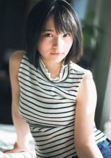 『週刊プレイボーイ』12号に登場したAKB48・矢作萌夏(C)藤本和典/週刊プレイボーイ