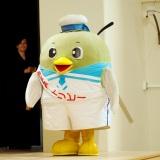 3月9日開催、大河ドラマ『いだてん』トークツアーin鳥取県鳥取市に登壇したトリピー (C)ORICON NewS inc.