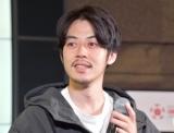 コラボレーション企画『TOYOTA×西野亮廣 ニシノクラウン』のお披露目会見を行った西野亮廣 (C)ORICON NewS inc.