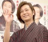 新曲「大丈夫/最上の船頭」発売記念イベントを行った氷川きよし (C)ORICON NewS inc.