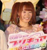 『映画プリキュアミラクルユニバース』の完成披露イベントに出席した成瀬瑛美 (C)ORICON NewS inc.