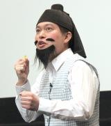 『映画プリキュアミラクルユニバース』の完成披露イベントに出席した脳みそ夫 (C)ORICON NewS inc.