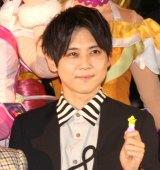 『映画プリキュアミラクルユニバース』の完成披露イベントに出席した梶裕貴 (C)ORICON NewS inc.
