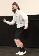 プリキュアダンスを踊る脳みそ夫=『映画プリキュアミラクルユニバース』の完成披露イベントに出席した (C)ORICON NewS inc.