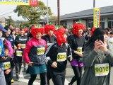 2月24日に開催された『第42回金栗四三のふるさと玉名 横島いちごマラソン大会』の模様 (C)ORICON NewS inc.