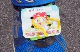 ランナーが着けていたチップ=2月24日に開催された『第42回金栗四三のふるさと玉名 横島いちごマラソン大会』の模様