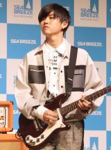 『シーブリーズ2019 デオ&ウオーター/ボディシート』新CM発表会に出席したMrs. GREEN APPLE・若井滉斗 (C)ORICON NewS inc.