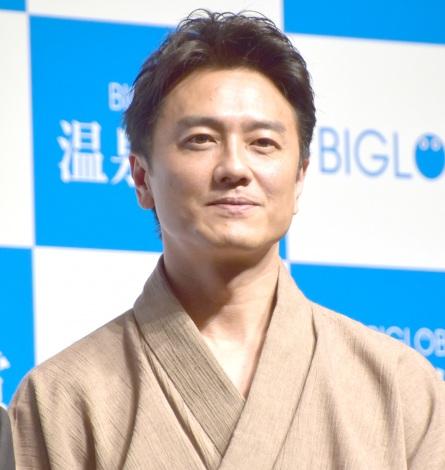 『BIGLOBE 温泉大賞』授賞式に出席した原田龍二 (C)ORICON NewS inc.