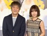 (左から)岡田惠和氏、有村架純 (C)ORICON NewS inc.